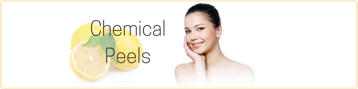 Chemical facial peel recuperation period seems