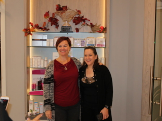 Beauty Works Day & Medi Spa   Belleville, ON   40th Anniversary & Grand Opening VIP Night   Jane Iredale Mineral Makeup & Institute DERMed Reps