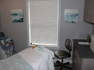 Beauty Works Day & Medi Spa   Belleville, ON   40th Anniversary & Grand Opening VIP Night   Laser Treatment Room