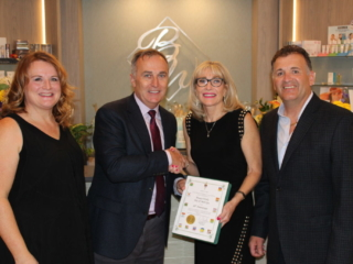 Beauty Works Day & Medi Spa   Belleville, ON   40th Anniversary & Grand Opening VIP Night   Neil Ellis, MP - Bay of Quinte