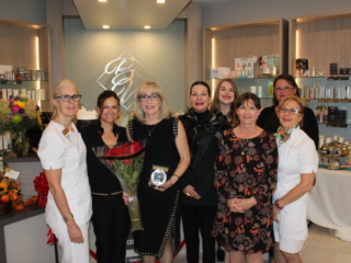 Beauty Works Day & Medi Spa   Belleville, ON   40th Anniversary & Grand Opening VIP Night   Yon-Ka & GM Collin