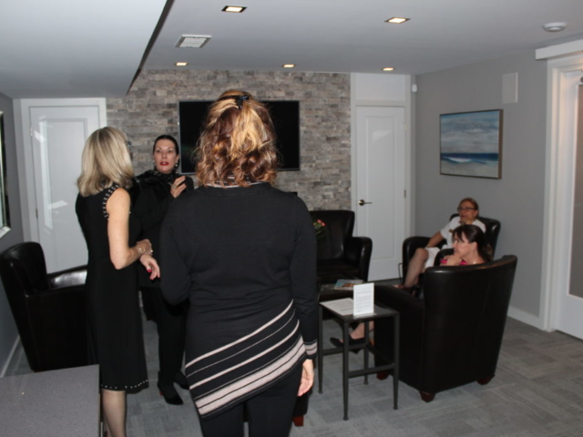 Beauty Works Day & Medi Spa | Belleville, ON | 40th Anniversary & Grand Opening VIP Night | Fireplace Lounge