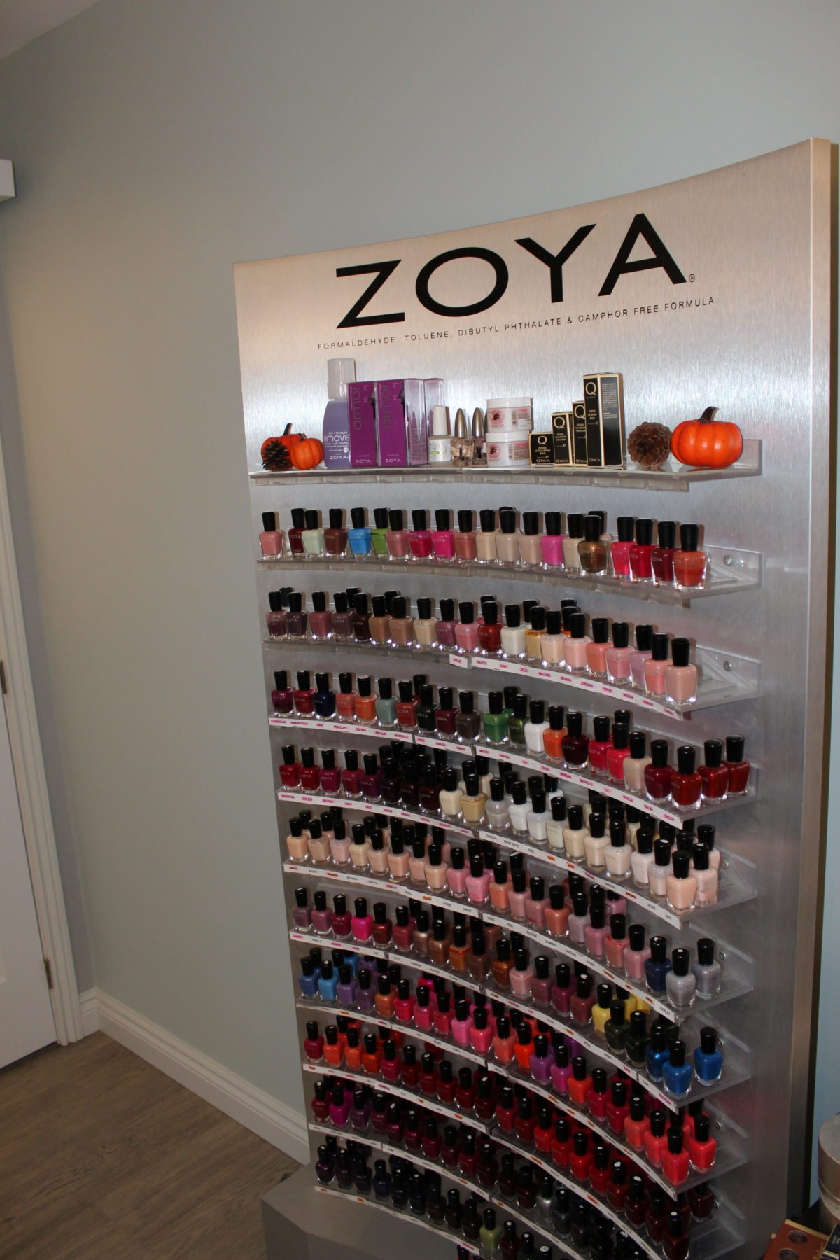 Beauty Works Day & Medi Spa | Belleville, ON | 40th Anniversary & Grand Opening VIP Night | Zoya Polish
