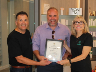Beauty Works Day & Medi Spa   Belleville, ON   40th Anniversary & Grand Opening OPEN HOUSE   Todd Smith, MPP Prince Edward-Hastings