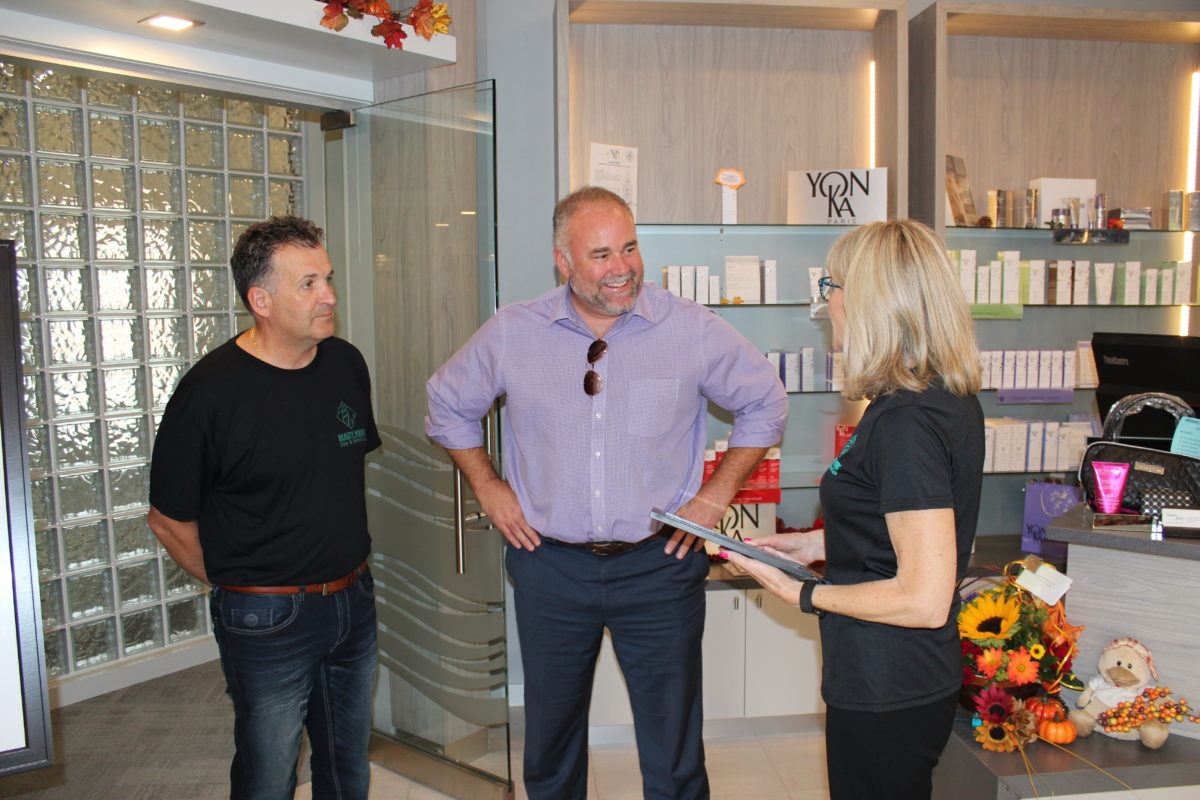 Beauty Works Day & Medi Spa | Belleville, ON | 40th Anniversary & Grand Opening OPEN HOUSE | Todd Smith, MPP Prince Edward-Hastings
