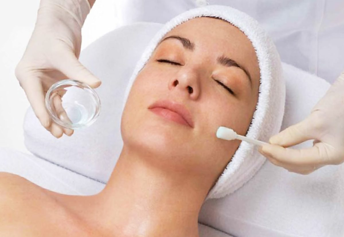 Shaking, support. Chemical facial peel recuperation period