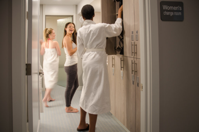 Spa Amenities - Personal Secure Lockers